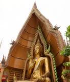 Großer goldener Buddha Stockbild