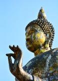 Großer goldener Buddha Stockfotografie