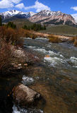 Großer hölzerner Fluss 2009 03 Stockfotos