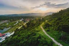 Großer Hügel Stockfoto