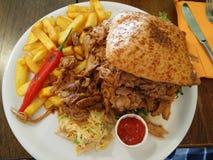 Großer Hamburger Lizenzfreie Stockbilder