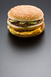 Großer Hamburger Stockfoto