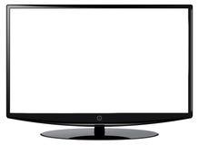 Großer HD Fernsehbildschirm Lizenzfreie Stockfotos