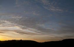 Großer Himmel Stockfoto