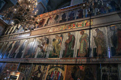 Großer Iconostasis von St. Sophia Cathedral Lizenzfreies Stockbild