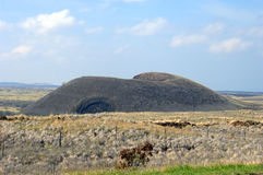 Großer Insel-Asche-Kegel Stockfotos