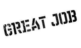 Großer Jobstempel Lizenzfreie Stockfotografie