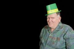 Großer Kerl betriebsbereit zur irischen Party Stockfotos