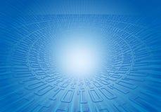 Großer Knall des binären Codes vektor abbildung