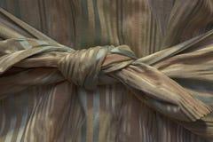 Großer Knoten vom Gewebe lizenzfreies stockfoto
