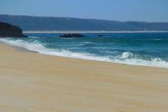 Großer, leerer Strand Lizenzfreies Stockfoto