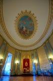 Großer luxuriöser Raum und Dekorationen Lizenzfreies Stockbild