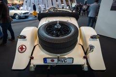 Großer Luxuscabriolet auto Mercedes-Benz Nuerburgs 460K W08, 1929 Stockbilder