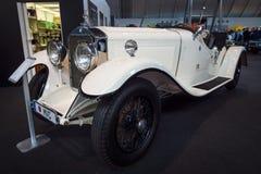 Großer Luxuscabriolet auto Mercedes-Benz Nuerburgs 460K W08, 1929 Lizenzfreies Stockfoto