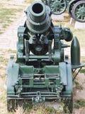 Großer 305mm Morser Kanon vom ersten Weltkrieg an Kalemegdan-Festung in Belgrad Lizenzfreie Stockbilder