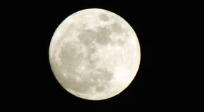 Großer Mond lizenzfreies stockfoto
