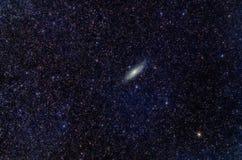Großer Nebelfleck in der Andromedakonstellation lizenzfreies stockfoto