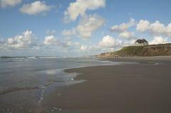 Großer offener Strand Lizenzfreie Stockfotografie