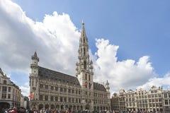 Großer Ort von Brüssel stockbilder