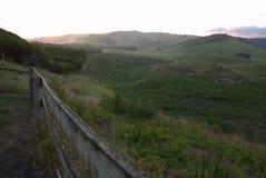 Großer Ozean-Straßensonnenuntergang Stockbild
