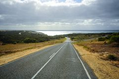 Großer Ozean-Straßenweg in Australien stockfoto