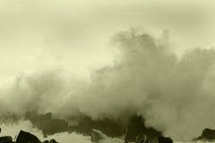 Ozeansturm 9 lizenzfreie stockfotos