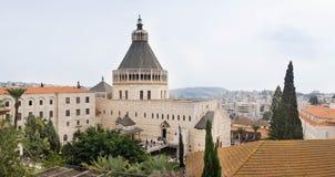 Großer Panoramablick der griechisch-orthodoxer Kirche des Annunciatio stockfotografie