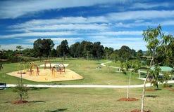 Großer Park Lizenzfreies Stockbild
