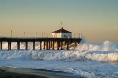 Großer Pier 2007 Mittwoch-Whitewater Manhattan Beach Lizenzfreie Stockfotografie