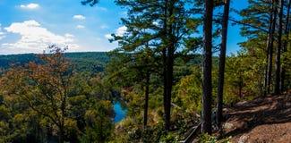 Großer Piney Fluss Stockbild