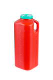 Großer Plastikbehälter für Urinproben Lizenzfreie Stockbilder
