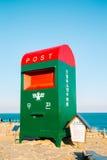 Großer Postbox in Ganjeolgot-Strand, Ulsan, Korea Lizenzfreies Stockfoto
