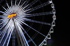 Großer Riesenräder Himmel-Hintergrund Stockfotos
