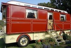 Großer Romany-Wohnwagen Lizenzfreies Stockfoto