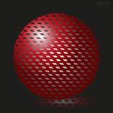 Großer roter Ball Lizenzfreies Stockbild