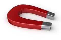 Großer roter Magnet Lizenzfreies Stockfoto