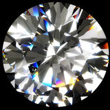 Großer runder Diamant Stockfotos