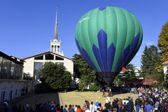 Großer schöner Ballon Lizenzfreies Stockfoto
