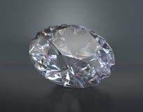 Großer schöner Diamant Lizenzfreies Stockfoto