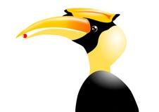 Großer Hornbill Stockbilder