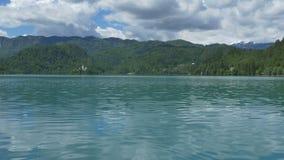 Großer See ausgeblutete Ansicht stock video
