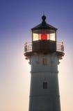 Großer See-Hafen-Leuchtturm Stockfotos