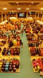 Großer Singapur-Verkauf von Gepäck-Taschen Stockbild