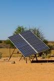 Großer Sonnenkollektor Lizenzfreies Stockbild
