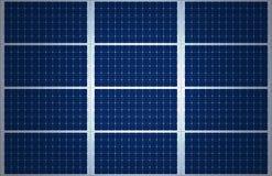 Großer Sonnenkollektor-Hintergrund Stockbilder
