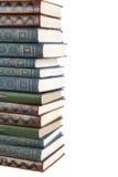 Großer Stapel alte antike Bücher Lizenzfreies Stockbild
