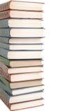 Großer Stapel alte antike Bücher Stockfotografie