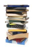Großer Stapel der Bücher Stockbild