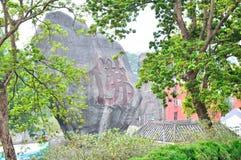 Großer Stein Stockbild