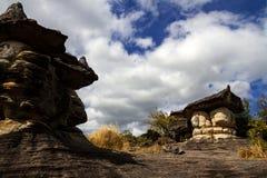 Großer Stein des Pilzes zwei Lizenzfreies Stockfoto